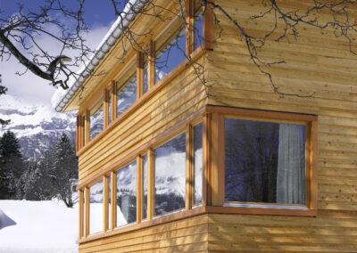 Ferienhaus in Braunwald, Schmid Fenster Manufaktur
