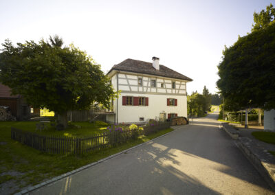 Riegelhaus, Schmid Fenster Manufaktur