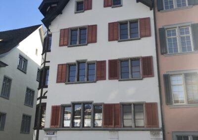 Stadthaus Schaffhausen - Schmid Fenster Manurfaktur