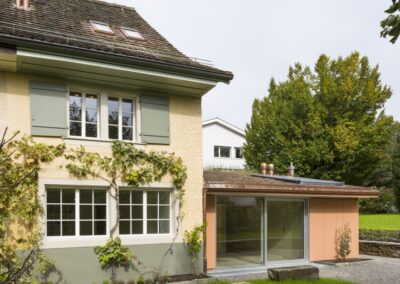 Umbau Einfamilienhaus, Schmid Fenster Manufaktur