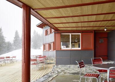 Ortstockhaus Braunwald GL, Schmid Fenster Manufaktur