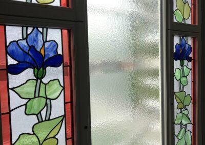 Holzfenster, Jugendstil