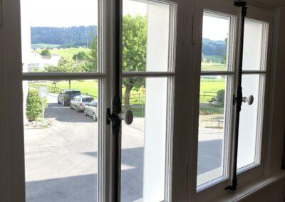 Holzfenster Dorfhaus Stein AR