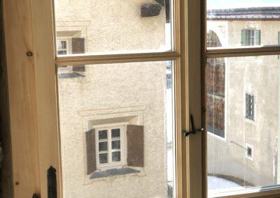 Umbau mit rustikalen Beschlägen, Schmid Fenster Manufaktur