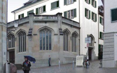 Kirchgasse Grossmünster in Zürich