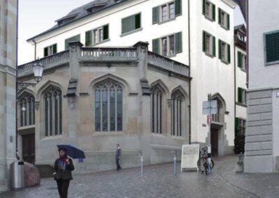 Kirchgasse Grossmünster Zürich, Schmid Fenster Manufaktur
