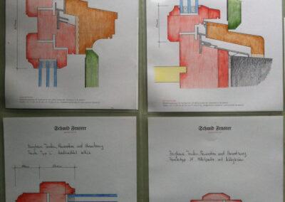 Holzfenster, Spezialanfertigung