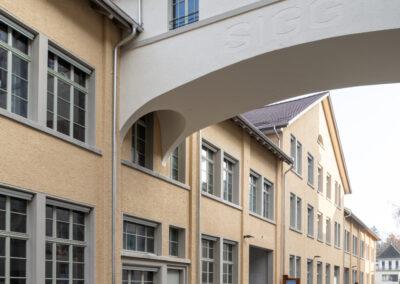 Altbau Fabrik Holzfenster, Schmid Fenster AG